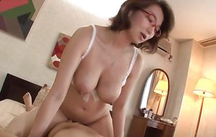 Enchanting floosy Mio Takahashi with great tits is incredible and ready for some hot banging