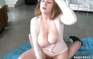 Kali West with big natural tits is nude and ready for some hot banging
