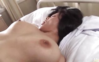 Big lever enters tiny tang of a succulent Miki Sato stunner