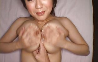 Magnificent Nana Aoyama is getting gently fucked and getting her box fingered