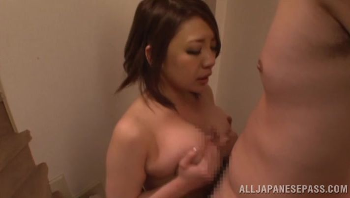 Stupendous Conomi gets her big booty destroyed by talented dude