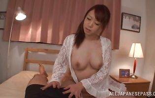 Tasty Riri Ouka is cheating on her husband with his best stud