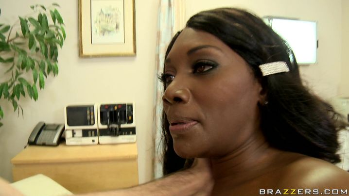 Glorious busty Nyomi Banxx gets what she was asking for