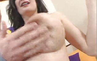 Enchanting Stephanie Wylde with large natural tits doesn