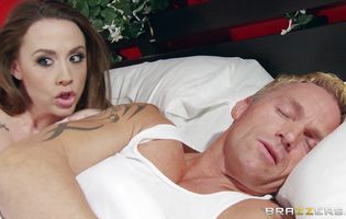 Nasty brunette sweetheart Chanel Preston enjoys sucking intense a big and hard tool