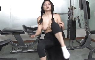 Prurient latin Evie Dellatossa with big natural tits is the best cock rider period